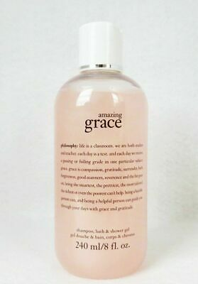 Philosophy Amazing Grace Bath, Shampoo & Shower Gel 8 oz 240ml