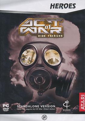 ATARI Act Of War High Treason - Stand- Alone Expansion Co...