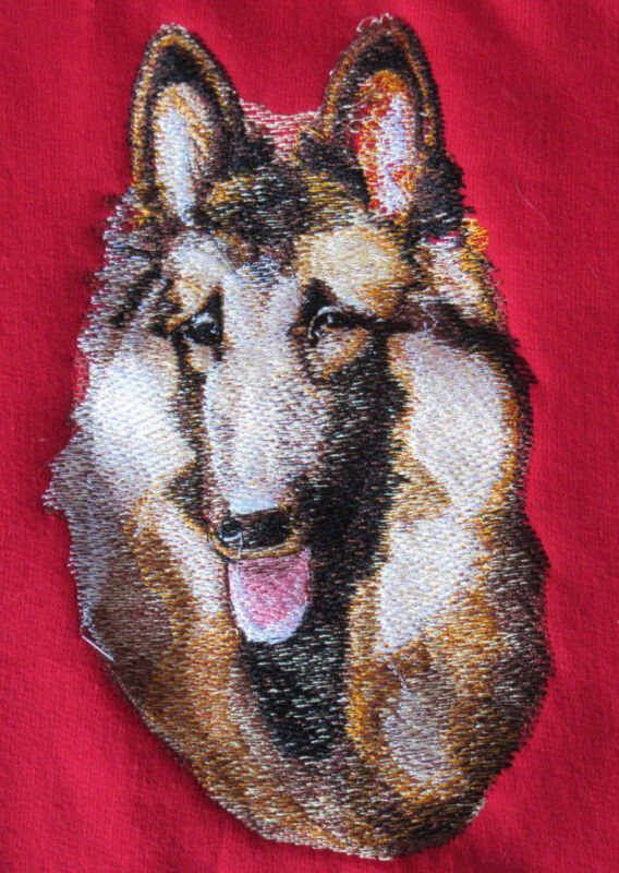 Embroidered Ladies Fleece Jacket - Belgian Tervuren BT3602  Sizes S - XXL
