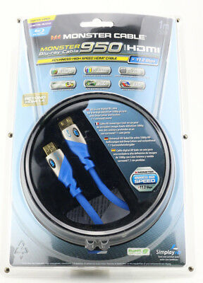 Monster Cable Advanced High Speed HDMI Kabel Full HD 3D Ethernet UHD LED 4K 303 - Advanced High Speed Hdmi Kabel