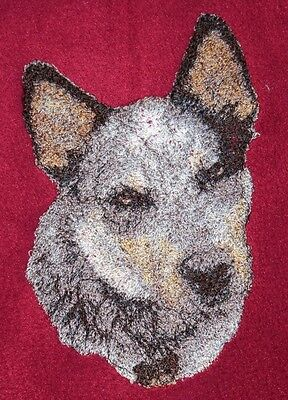 Embroidered Fleece Jacket - Australian Cattle Dog AED16215 Sizes S - -