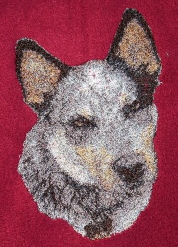 Embroidered Sweatshirt - Australian Cattle Dog AED16215 Sizes S - XXL