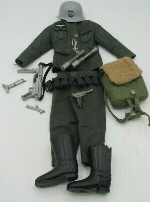 Vintage Action Man Uniform 1967 GERMAN STORMTROOPER  - NEAR COMPLETE