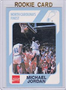 Michael Jordan Rookie Basketball Card Jym Workouts