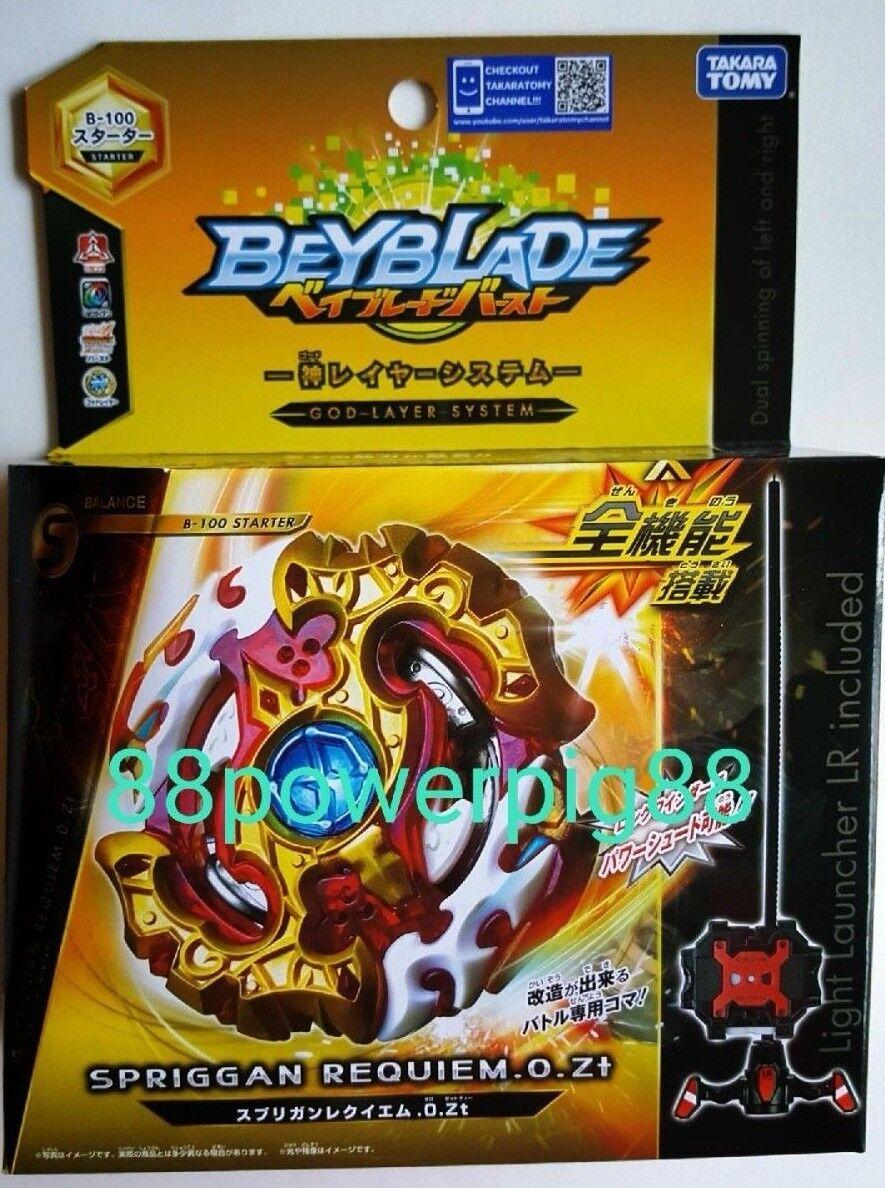Купить Takara Tomy - Takara Tomy Beyblade Burst B-100 Spriggan Requiem .0.Zt Dual Spin US Seller