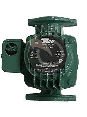 Taco 0011 Hot Water Circulator Pump 18 Hp With Free Upgraded Cartridge