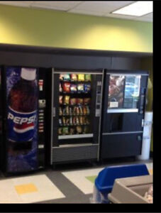 Vending machines: coffee and snack