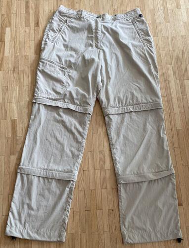 Schöffel Trekking / Zipper Hose in Beige / Creme Gr. 46