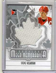 STEVE-YZERMAN-ITG-Canadiana-Mega-Memorabilia-SP-Jersey-13-Detroit-Red-Wings-SL