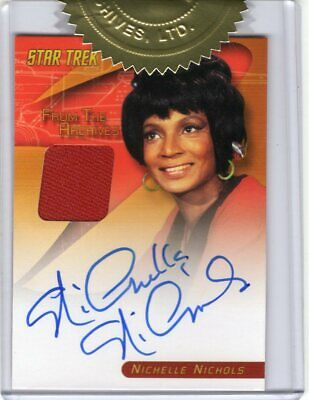 Heroes And Villains Costume (Star Trek TOS Heroes and Villains - Nichelle Nichols Autograph Costume)