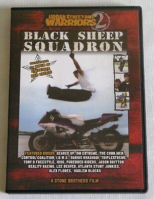 Urban Street Bike Warriors - Black Sheep Squadron (DVD, 2004)