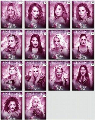 WWE TOPPS SLAM DIGITAL PURPLE PRIZE WHEEL SPOTLIGHT 14 CARD - Purple Spotlight