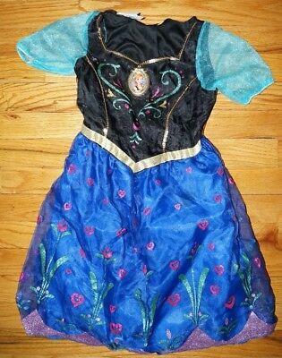 Disney Frozen ANNA Licht & Song Kleid völlig unverfroren Fasching Kostüm 110
