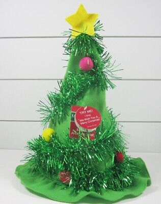 Dan Dee Collector's Choice Merry Brite Musical Animated Christmas Tree Hat *New Animated Musical Christmas Tree