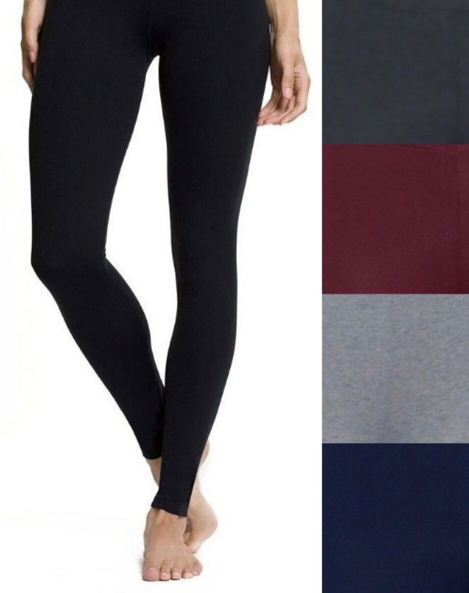 Leggings - New Plus Size Cotton/Spandex Long Full Length Leggings - L/XL/1X-2X-3X