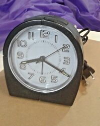 Advance AC Powered Alarm Clock with Battery Backup Slot - Advance Model 3629