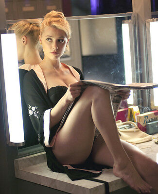 Amber Heard 8X10 Photo Picture Pic Hot Sexy Legs In Lingerie 8