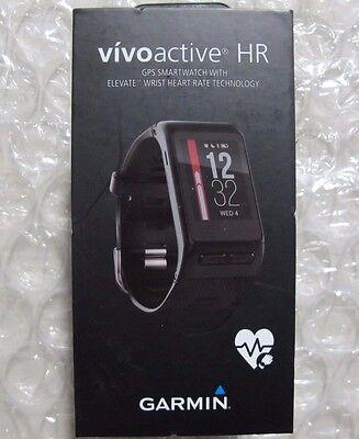 Garmin V Voactive Hr Gps Smart Watch Regular Fit Black 010 01605 03