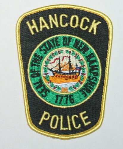 HANCOCK POLICE DEPT New Hampshire NH PD patch