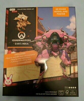 Loot Crate - Overwatch Poster and Model