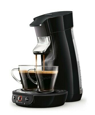 SENSEO® Viva Café HD6563/60 Kaffeepadmaschine Schwarz Höhenverstellbarer Kaffee