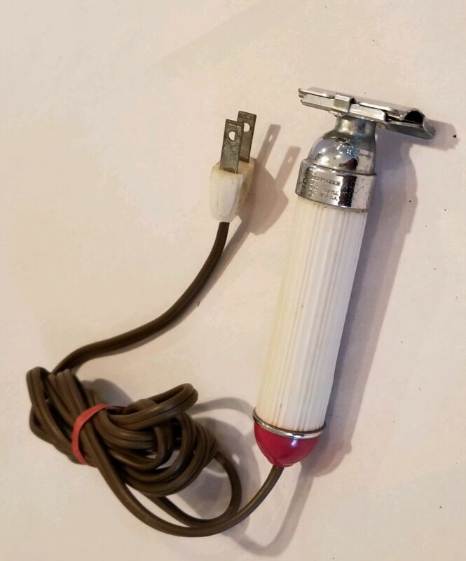 Lektron Coronet Electric Wet Shaver, 1940s, Very RARE, working condition
