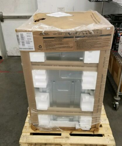 """Whirlpool 30"""" Microwave Combination Wall Oven WOC95EC0AS New"""