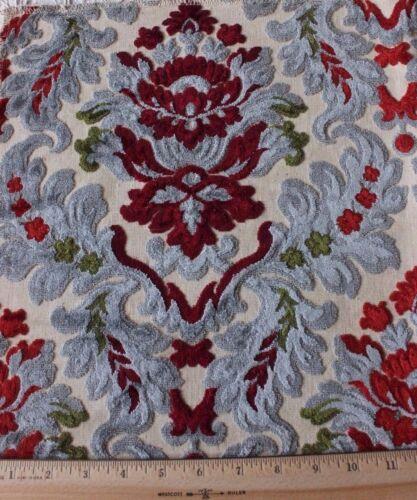 French Vintage Cotton Cut Velvet Manufacturer