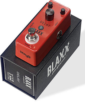 Stagg Blaxx Delay Compact Guitar Pedal