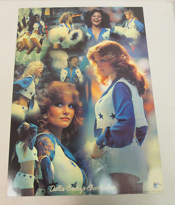 DALLAS COWBOYS CHEERLEADERS POSTER 20X28 VINTAGE RETRO VTG 1979 TRANSMEDIA NFL - Dallas Cowboys Cheerleader