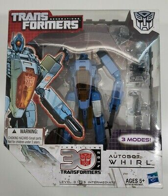 """TRANSFORMERS GENERATIONS AUTOBOT """"WHIRL"""" 30TH ANNIVERSARY MISB"""