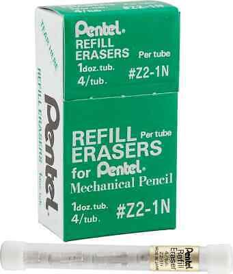 Pentel Eraser Refills Tube Of 4 1686964