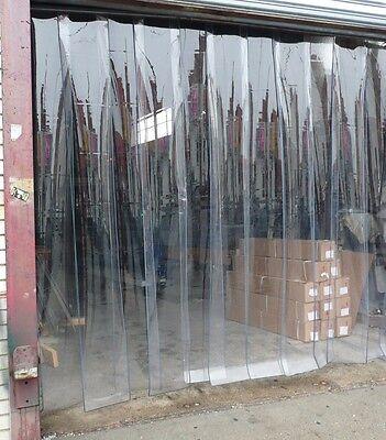 PLASTIC DOOR STRIP  CURTAIN ~ COOLERS / FREEZERS / REFRIGERATOR ~ 26