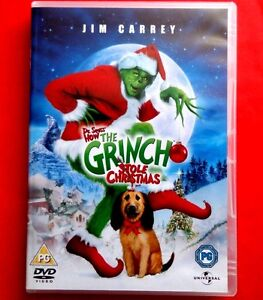 the grinch dr seuss how the grinch stole christmas dvd jim carrey - How The Grinch Stole Christmas Jim Carrey