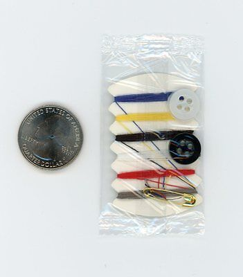 Mini Thread & Needle Sewing Kit for Survival Pack or Bug Out Bag - Free Shipping