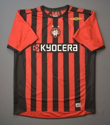 Atletico Paranaense Jersey 2006 Home L Shirt Mens Football Soccer Umbro ig93 image