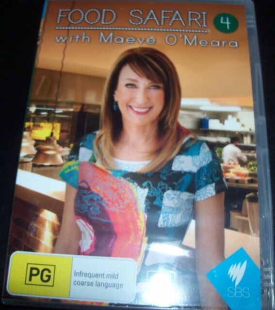 Food Safari With Maeve O'Meara Series 4 (Australia Region 4) DVD – New