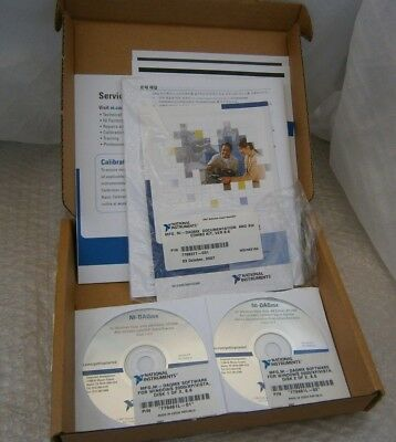 National Instruments 779461l Ni-daqmx Software Windows 2000xpvista Ver. 8.6