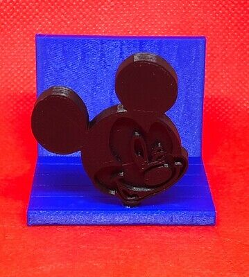 Disney Inspired Silhouette Business Card Holder 3d Printed Excellent Gift