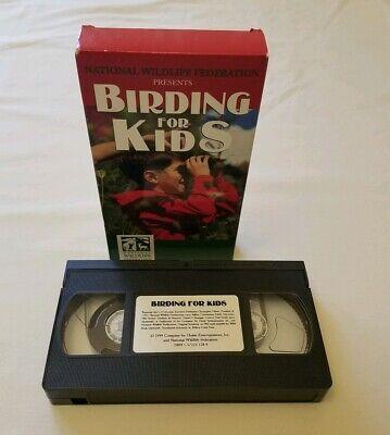 Bird Movie For Kids (Birding for kids national wildlife vhs)