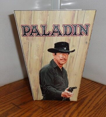 Paladin Popcorn Box. Have Gun Will Travel. Richard Boone. Free Shipping