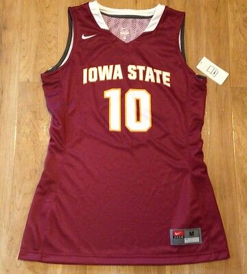Iowa State Cyclones Game - New Nike Iowa State Cyclones Women's M Hyper Elite Basketball Game Jersey #10