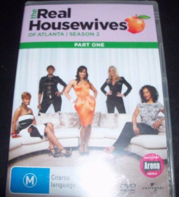 The Real Housewives Of Atlanta Season 2 Part 1 (Australia Region 4) DVD - NEW