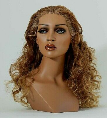 Mannequin Head Female Wig Heads Vaudevillemannequins.com Briana Black Display