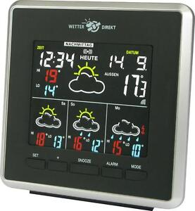 techno Line WD-4026 Funk Wetterstation, Farb Display, 4-Tage Regionale Prognose