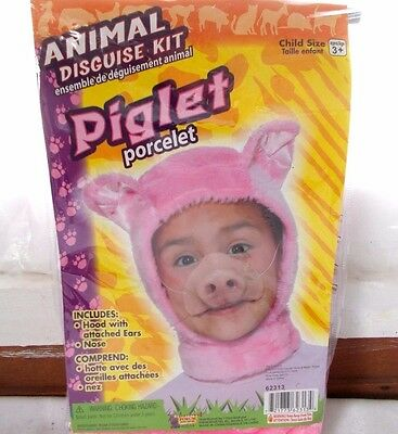 Baby Pig Costumes (New Forum Animal Disguise Kit Piglet Child Costume)