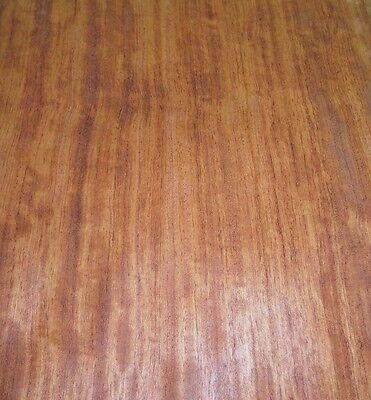Bubinga Figured African Wood Veneer 15 X 66 Raw No Backing 142 Thickness A