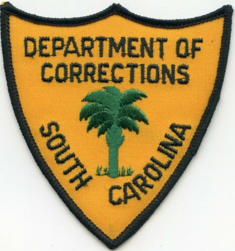 old style SOUTH CAROLINA SC STATE DEPARTMENT OF CORRECTIONS DOC police PATCH