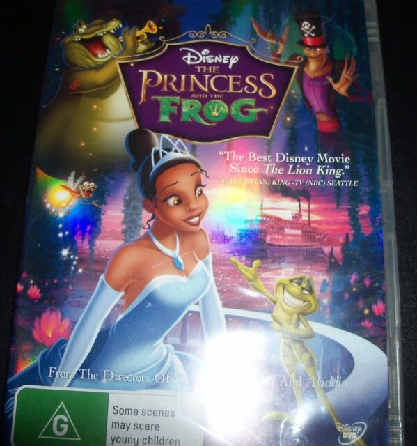 The Princess & And The Frog Disney (Australia Region 4) DVD – Like New