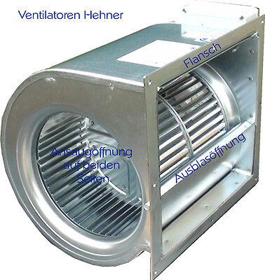 Ventilator Lüfter Motor Gebläse für Dunstabzugshaube, Lüftung und Klima 3000 m³